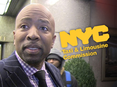 Taxi Commission To Kenny Smith -- We Didn't Racially Profile You ... Al Sharpton Disagrees (VIDEO)
