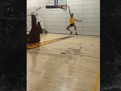 D'Angelo Russell's GF -- I Got Hops, Too ... Watch Me Get Up (VIDEO)