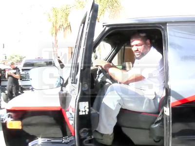 Rampage Jackson I Can Finally Take The A Team Van Out