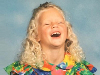 Guess Who This Laughing Little Lady Turned Into!