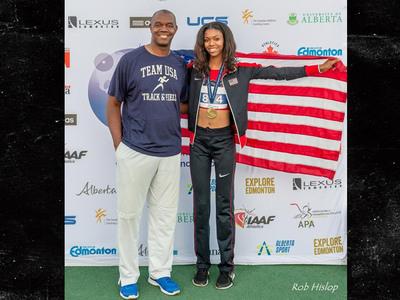 Randall Cunningham's Daughter -- World Class Track Athlete ... Gunning For Gold Medal