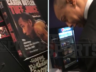 Caron Butler -- I'm Eating My Life Story!!! Book Turned Into Delicious Cake (VIDEO)