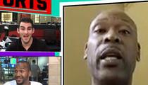 NBA's Glenn Robinson -- Hey Stephen A. Smith ... Enough Talk, Let's Fight (VIDEO)
