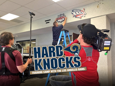 L.A. Rams -- We've Already Started 'Hard Knocks' Filming (PHOTOS)
