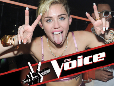 Miley Cyrus -- Joins 'The Voice' As Coach ... No Gwen in Season 11