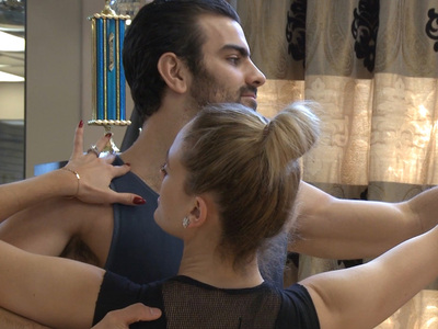'Top Model' Nyle DiMarco -- My 'DWTS' Partner Has to Beat It for Me (VIDEO)