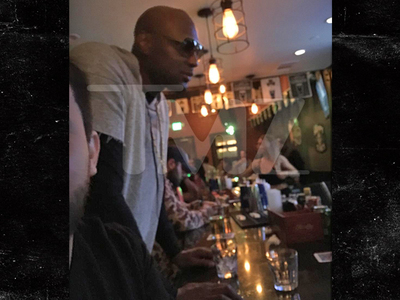 Lamar Odom -- Boozing at L.A. Bar ... Hours Before Church with Khloe (PHOTOS)