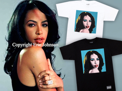 Aaliyah Photographer Sues T-Shirt Company ... My Portrait Is One In A Million