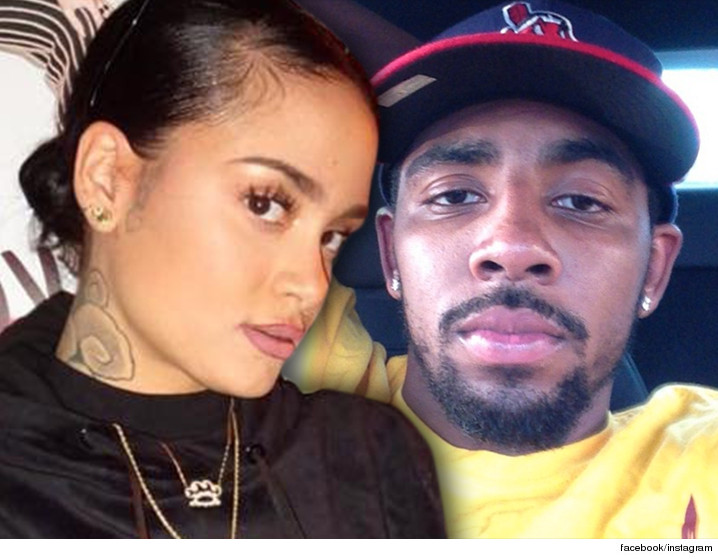 f77da2e32ba7 Kyrie Irving --  Nothing But Love for Kehlani  ... But Blames Her Ex ...