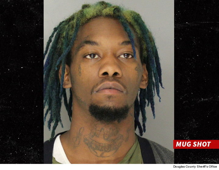 Migos Rapper Offset Back In Jail Pot Bust This Time Tmzcom