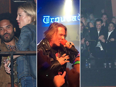 Guns N' Roses -- Celeb Fans Flocked to Reunion Gig ... If They Had the Juice (PHOTOS & VIDEO)