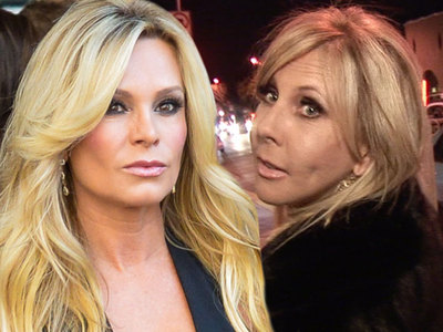 'OC Housewives' Vicki and Tamra -- Hospitalized in Sand Dune Wreck