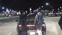 Troy Smith's DUI Arrest -- Dashcam Reveals Alphabet FAIL and 'Degree in Bachelors'  (VIDEO)