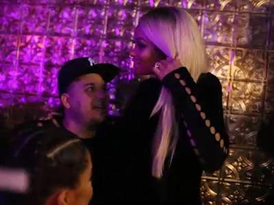 Rob Kardashian & Blac Chyna -- Congratulations from Your Friendly Strip Club DJ (VIDEO)