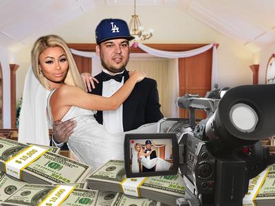 Rob Kardashian & Blac Chyna -- Wedding TV Special Worth Millions