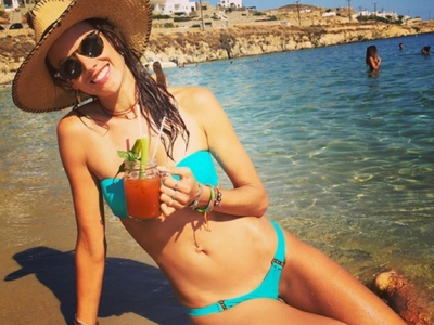 Alessandra Ambrosio in Her Birthday Bikini For (Wo)Man Crush Monday