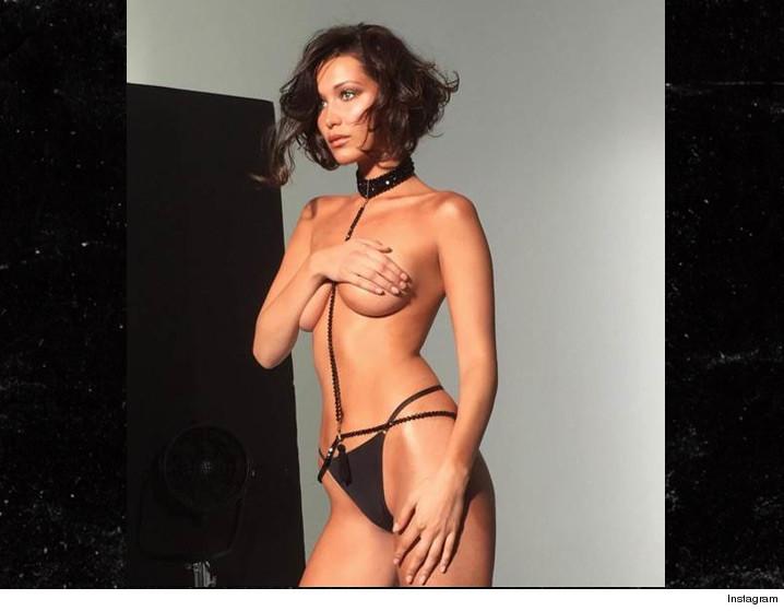 Bella Hadid Body >> Bella Hadid A Chain Gang Of 1 Photo Tmz Com