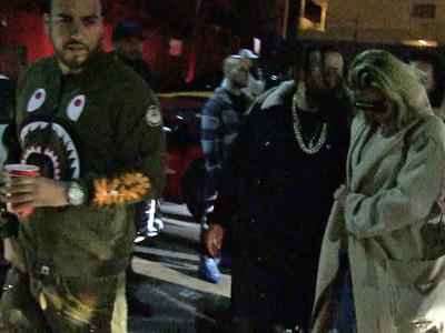 Khloe Kardashian: Old Habits Die Hard ... Clubbin' with French (VIDEO)