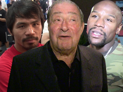 Floyd vs. Manny Rematch -- 'More Likely Than Not' ... Says Bob Arum