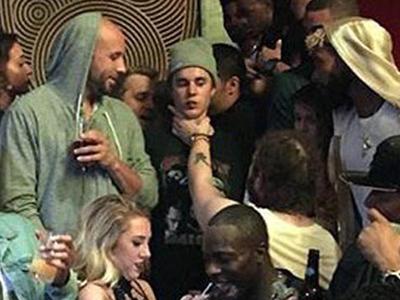 Post Malone -- I Choked Bieber ... But We Were Just Playing (PHOTO)
