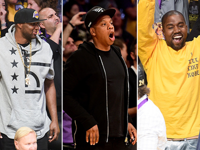 Kobe Bryant -- Celebs Rally for Mamba's Last Run (PHOTOS)