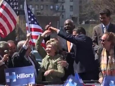 Hillary Clinton -- Gimme a Spin, Mi Amigo!