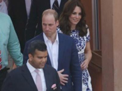 Prince William -- Chokes Up at Taj Mahal (PHOTOS)