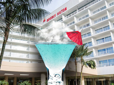 Beverly Hilton Sued -- They Made Me Drink Liquid Nitrogen!!!