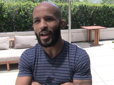 UFC's Demetrious Johnson -- I Send Poop Pics to My Wife ... Lemme Explain. (VIDEO)