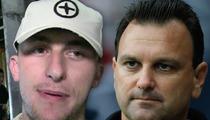 Johnny Manziel -- Agent Officially Fires QB ... After Coachella Weekend