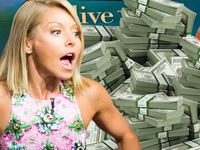 Kelly Ripa -- She Won't/Can't Leave 'Live' -- It's a Money Thing