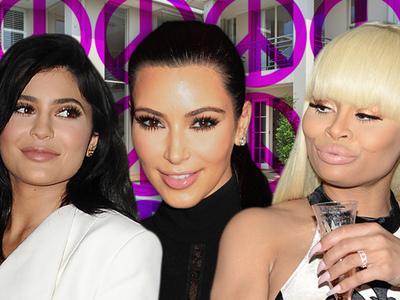 Kim Kardashian -- I'm the U.N. in Kylie and Blac Chyna's Truce