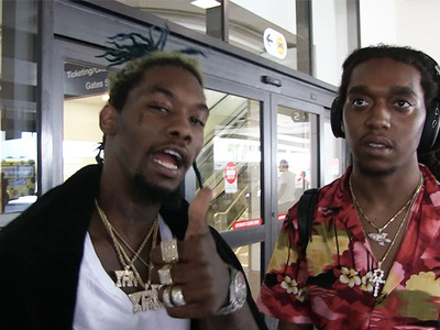 Migos -- Jim Harbaugh's Hood Pass Is ACTIVE ... Forever (VIDEO)
