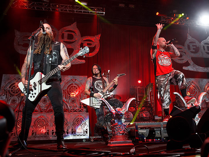 Five Finger Death Punch Sued Your Singers A Drunken Mess And Your