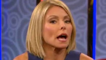 Kelly Ripa -- Back Tuesday After Tough Talk With Disney