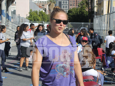 Ronda Rousey -- Gives Pump Up Speech to Kids ... 'Gotta Have Self-Confidence' (PHOTOS)