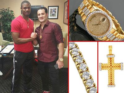 NFL Draft -- Top Prospect Drops $41k ... On Pre-Draft Jewelry Run