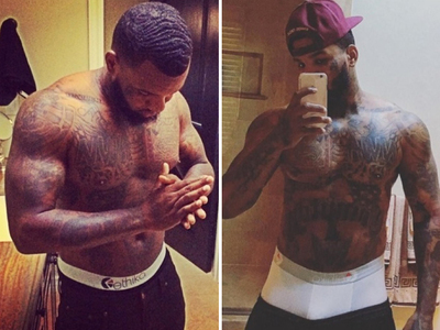 The Game's Sexy Skivvies -- See The Stripped Down Shots