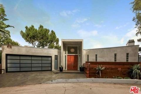 "Keith ""Lucky"" Lehrer's Hollywood Hills home"