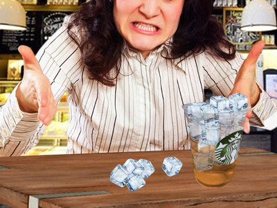 Starbucks Sued -- Easy On the Ice!! And Pay Us $5 Million