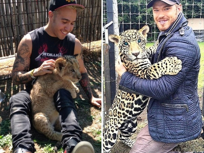 Stars With Exotic Felines -- Happy Caturday!