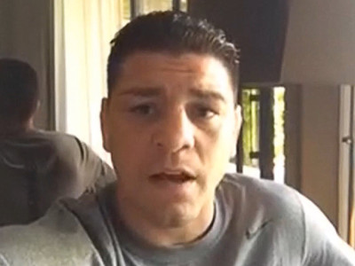 UFC's Nick Diaz -- Training with Van Damme ... 'Dream Come True' (VIDEO)