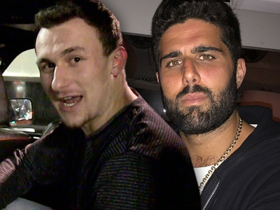Johnny Manziel -- BFF Off the Hook In Hollywood Crash