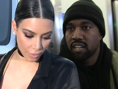 Kim Kardashian and Kanye West -- We Never 'Fired' That Bodyguard ... He Was Only a Temp