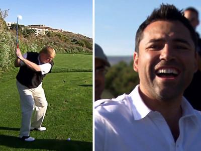 Oscar De La Hoya -- Praised Trump as 'Great Golfer' ... Smoking Gun Video