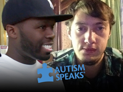 50 Cent -- Donates $100k to Autism Speaks