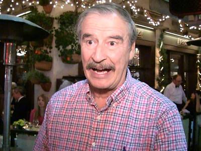 Vicente Fox -- Trump's Tacos are Fake!!! (VIDEO)