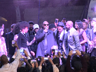 Stevie Wonder -- Rocks L.A. City Hall with 'Purple Rain'