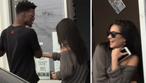 NBA's Jimmy Butler -- Hot Lunch Date with 'Pretty Little Liars' Star (VIDEO)