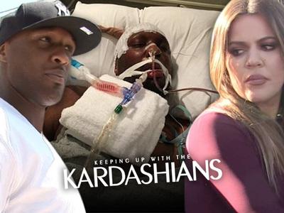 Lamar Odom WANTED Hospital Pics on 'KUWTK'